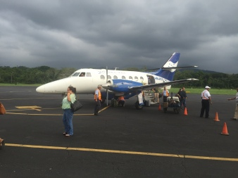 The plane we travel in from San Pedro to La Ceiba.