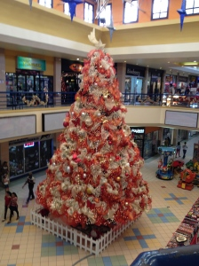One of my favorite things during Christmas is the huge Christmas tree in the mall. Merry Christmas!