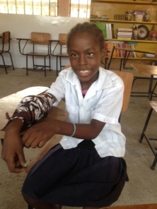 God is making a way for Yenory to get the surgery that she needs for her broken arm to heal.